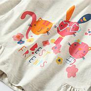 Кофта для девочки Лучшие друзья Jumping Beans, фото 2