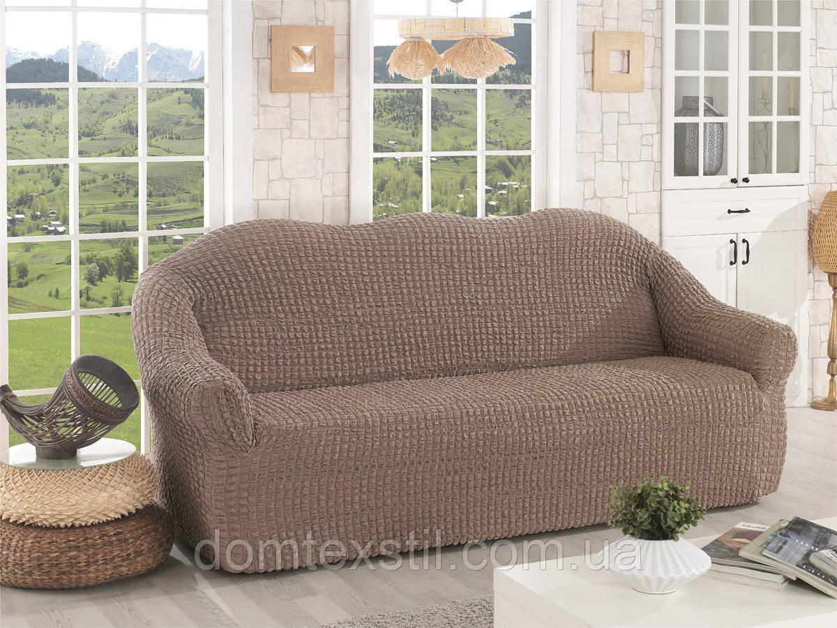 Чехол универсальный на диван без юбки ТМ Evory home Турция