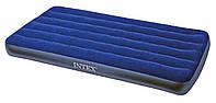 Односпальный надувной матрас Intex 76x191x22 см (68950)