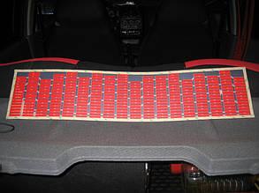 Автомобильный эквалайзер розовый (90 х 10 см)