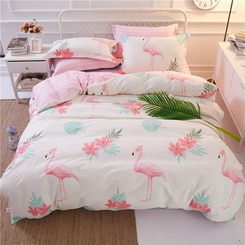 1b291972be32 Комплект постельного белья Большой фламинго (двуспальный-евро) Berni -  Nosik. Товары для
