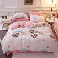 Комплект постельного белья Люблю тебя (полуторный) Berni
