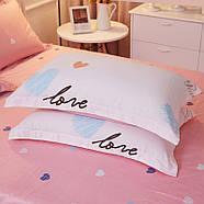 Комплект постельного белья Люблю тебя (полуторный) Berni, фото 4