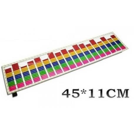 Мультицветный эквалайзер (5 цветов) 45 х 11 см, фото 2