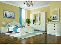 """Кровать 160 """"Каролина"""" МДФ (береза полярна/золотое дерево), фото 1"""