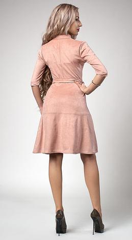 """Платье  """"Рамина"""" размер 44 бордо, фото 2"""