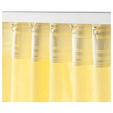 ВИВАН Гардины, 1 пара, желтый, 145x300 см 80389327 ИКЕА, IKEA, VIVAN, фото 2