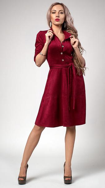 """Платье  """"Рамина"""" размер 44 бордо"""