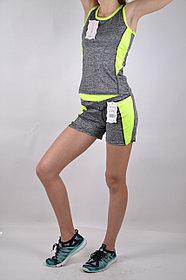 Женский спортивный костюм с коротким рукавом
