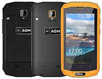 """Смартфон AGM A8 mini 1/8Gb Black, IP68, 8/2 Мп, 4"""" TFT, 4G, 2600 мАч, Snapdragon 210, 4 ядра, фото 1"""