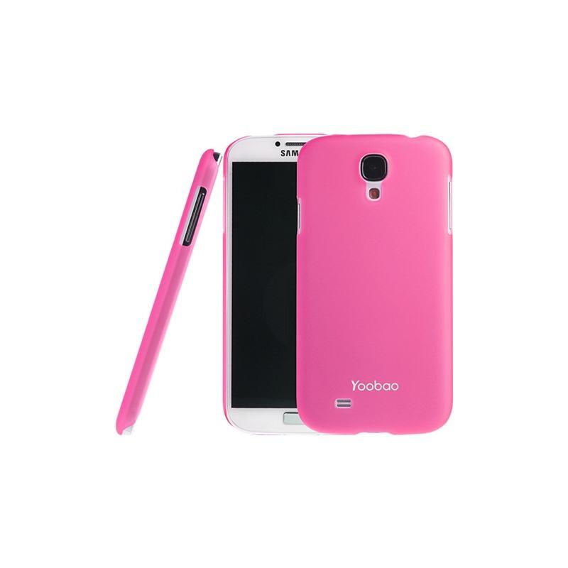 Накладка Yoobao Crystal Protect case для Samsung i9500 Galaxy S IV розовая