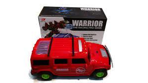 Музыкальный светящийся трансформер Warrior The Racing Pro SBWE