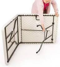 Стол складной + 4 стула. Cкладной столик для пикника - folding table. Очень легкий, компактный стол для пикник, фото 3