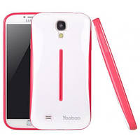 Чехол Yoobao Colorful Protect для Samsung i9500 Galaxy S IV, red