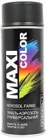 Термостойкая аэрозольная эмаль Maxi Color 400 мл, Черная