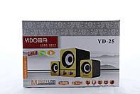 Колонки для ПК, Акустика 2.1 для ПК SPS YIDO YD-25 USB