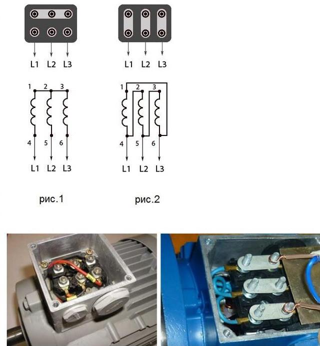 Электродвигатель АИР 80В4 подключение
