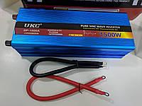 Преобразователь UKC 1500W  с чистой синусоидой AC/DC 12В – 220В