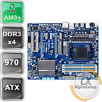 Материнская плата Gigabyte GA-970A-UD3P (AM3+/AMD 970/4×DDR3) БУ