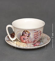 Фарфоровая чайная пара Ангел WAB-02- 6