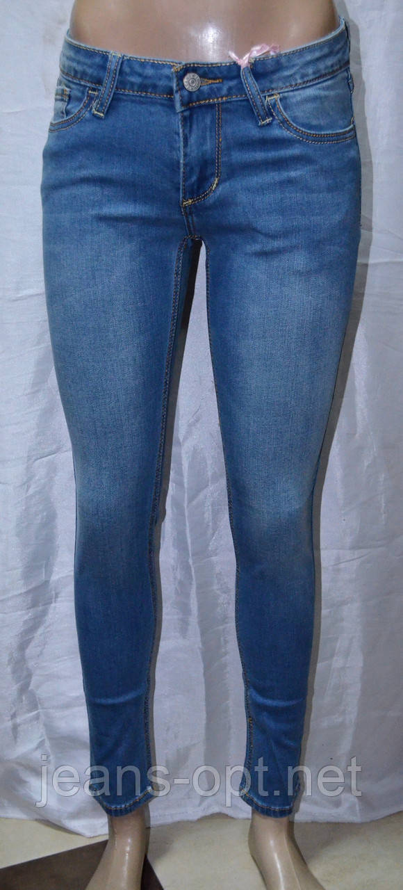 Джинсы женские  синие DZIRE 933