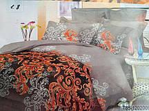 Постельный комплект 3Д ,,Аромат Весны,, двухспальный