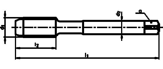Метчик М 10х1.5 ВК8