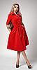 """Платье  """"Ребека"""" красного цвета"""