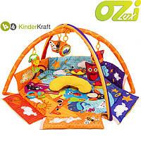 Детский развивающий коврик Animals Planet фирмы KinderKraft
