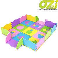 Детский коврик-головоломка из бортиками