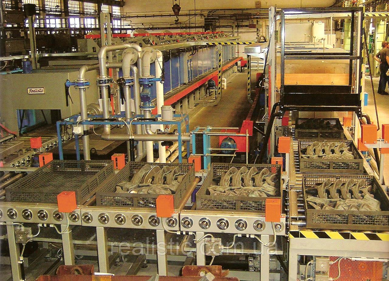 Автоматизированная линия  для термической обработки стальных изделий