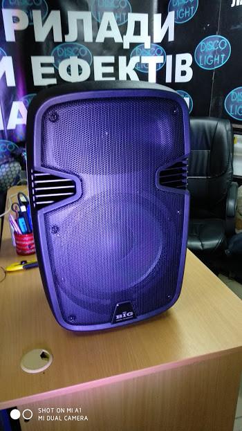 Мобильная заряжаемая автономная акустическая система с радиомикрофонами JB12RECHARG+MP3/FM/Bluetooth