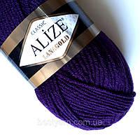 Пряжа нитки для вязания Lanagold полушерсть