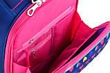 Рюкзак каркасный H-12-1 Hearts, 38*29*15, фото 5