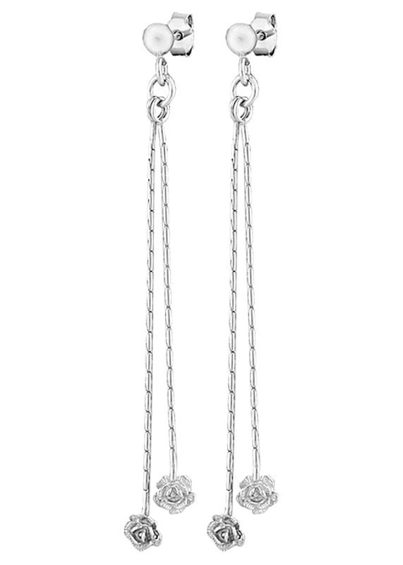 Серебряные серьги 8817Р