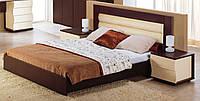 Кровать Наяда ламелями на ножках