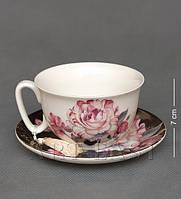 Фарфоровая чайная пара Розы WAB-02-14