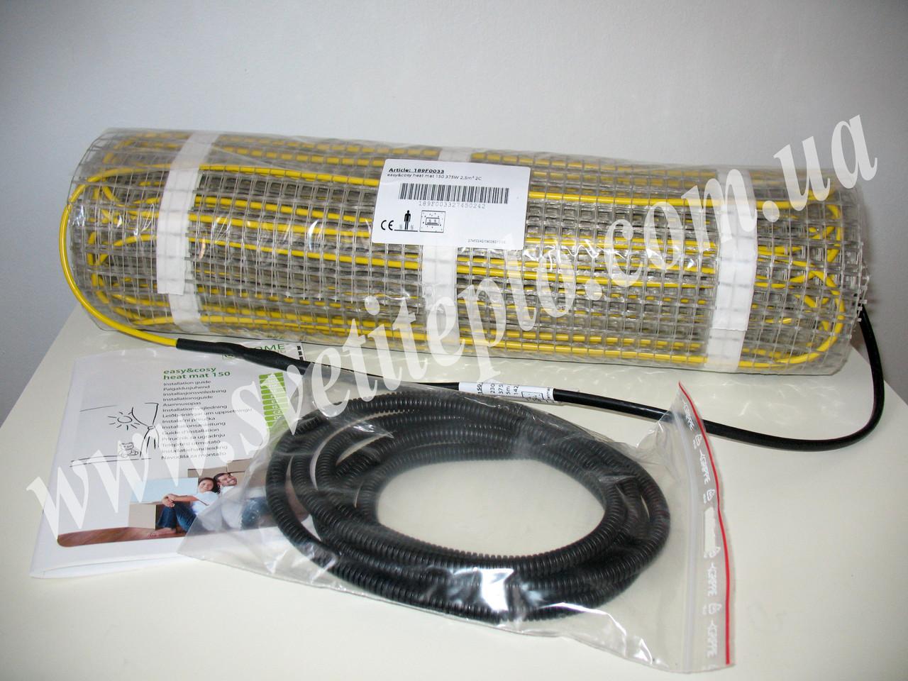 10 м2,  1500 Вт при 230V, двухжильный нагревательный мат, Home Heating