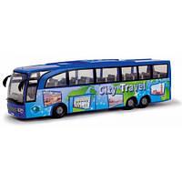 Туристический автобус Экскурсия по городу, 33 см (синий), Dickie Toys