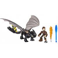 Как приручить дракона Иккинг и Беззубик в новом снаряжении, Spin Master Dragons