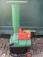 Немецкий электрический шредер садовый измельчитель для веток BRILL дробилка гiлок из Германии