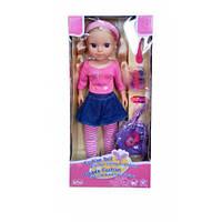 Кукла блондинка с аксессуарами для волос, 40 см, Lotus Onda