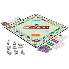 Монополия, классическая настольная игра (украинский язык), Monopoly, Hasbro C1009