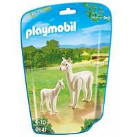 Альпака с детенышами, Playmobil