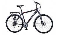 """Городской велосипед  CYCLONE 28"""" DISCOVERY- Disk 20""""(черный)"""