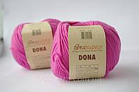 Пряжа Dona мериносовая шерсть 100% ярко-розовый