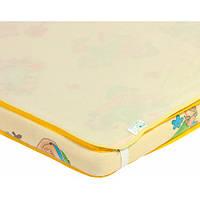 Наматрасник-пеленка непромокаемый 2 в 1 Premium, 60 × 80 см, желтый, Эко Пупс