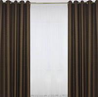 Красивый готовый комплект штор из плотной шторной ткани в Украине , фото 1