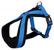 Шлея-петля для собак Премиум Софт Trixie М синяя