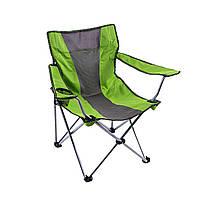 Кресло туристическое складное KB 002 Салатовый